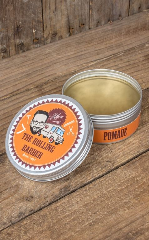 Marc the Rolling Barber Pomade waterbased, pomegranate
