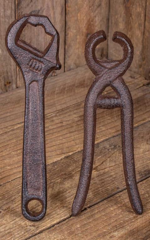 Metal bottle opener tool, different designs