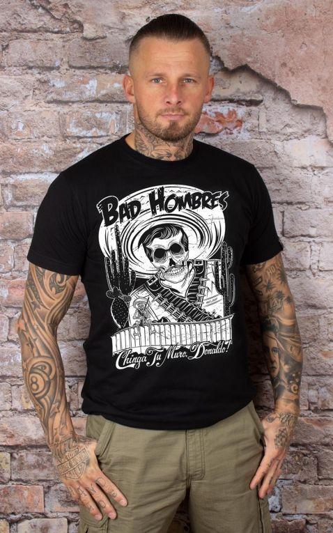 Mexican Mob - T-Shirt Bad Hombres