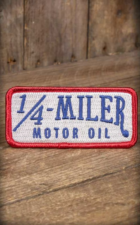 Rumble59 - Aufnäher 1/4-Miler Motor Oil