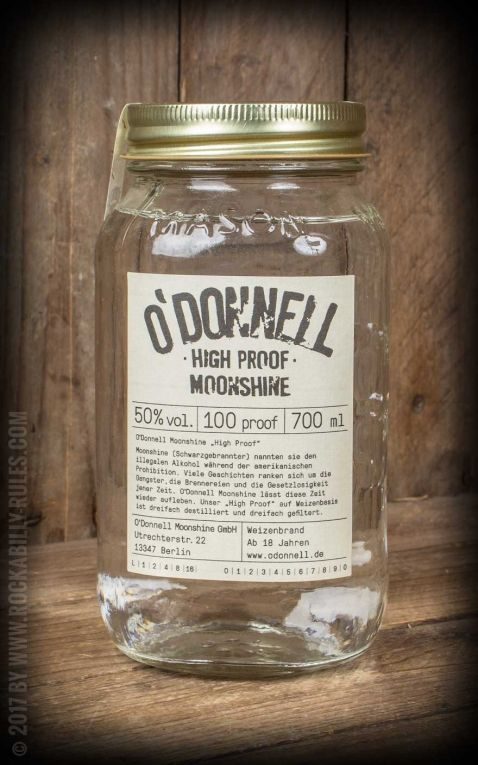 ODonnell Moonshine High Proof