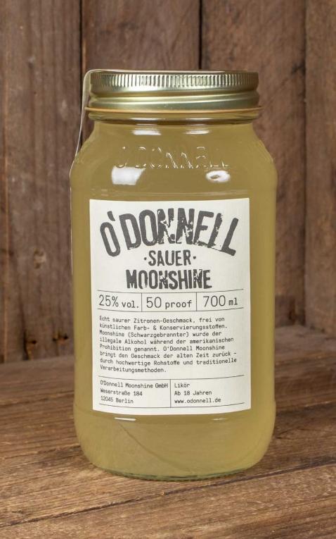 ODonnell Moonshine Lemon Drizzle
