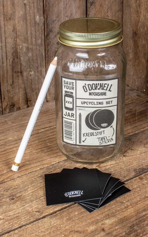 ODonnell Original Mason Jar Verre à long drink Upcycling Set
