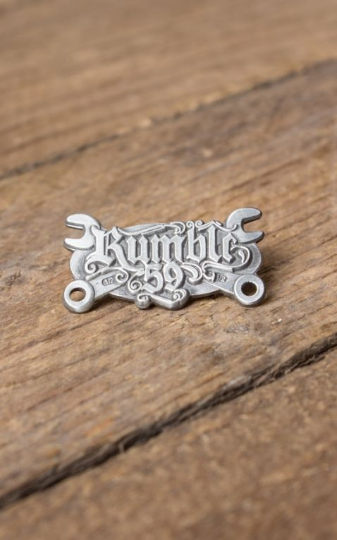 Rumble59 - Wild Wrench Pin