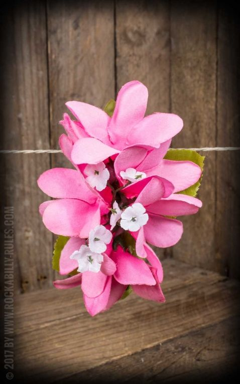 Plumeria HairClip Light Pink
