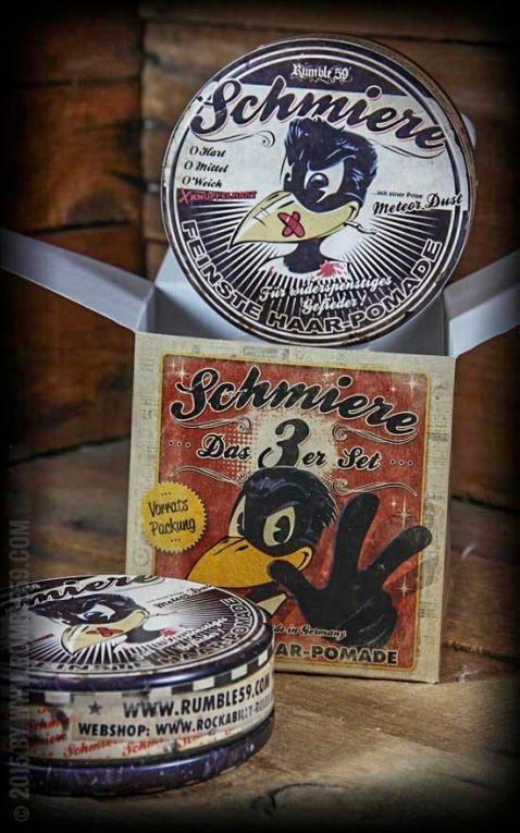 Rumble59 - Schmiere - Triple Set Pommade super dure