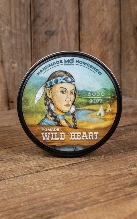Handmade MG Homebrew Pomade - Wild at heart, soft