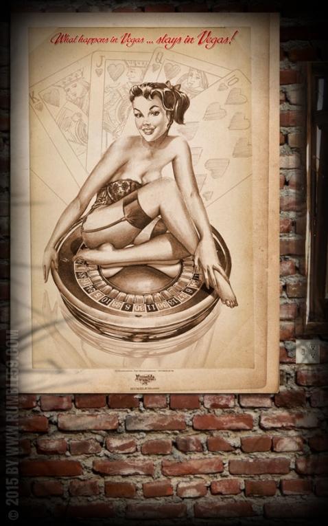 Rumble59 Poster - Vegas