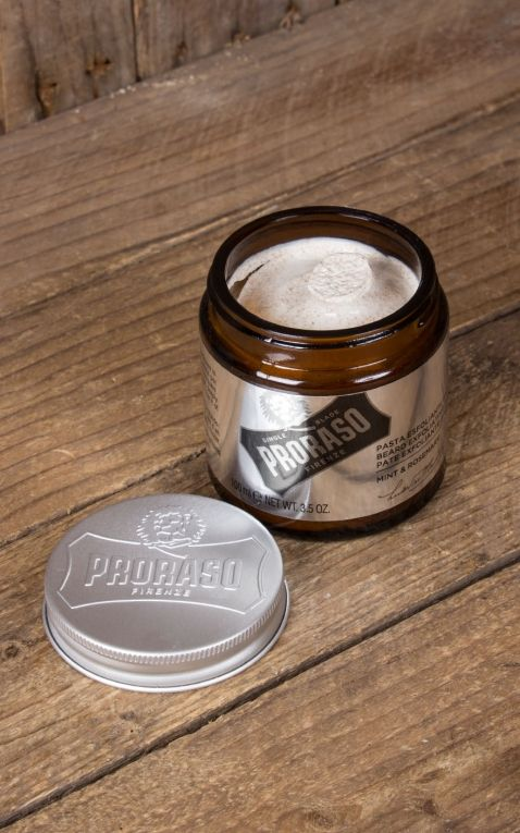Proraso - Single Blade beard peeling, Mint & Rosemary