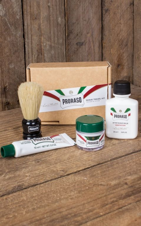 Proraso Travel Shaving Kit