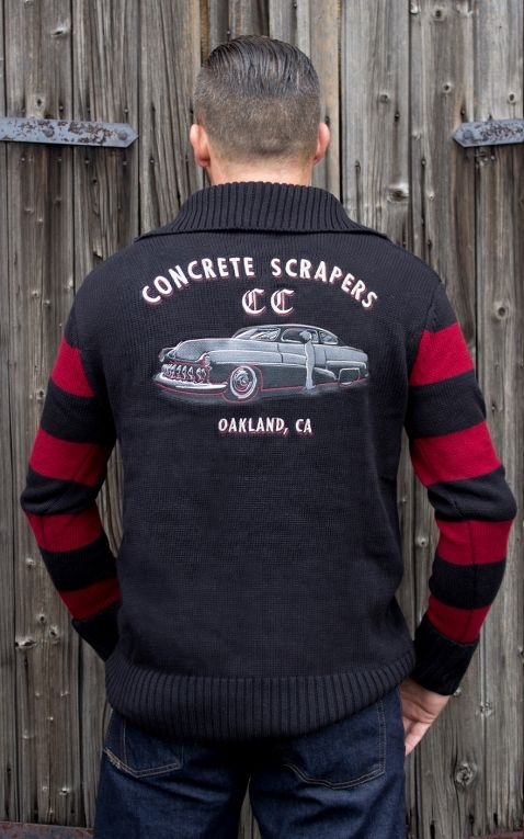 Rumble59 - Racing Sweater - Concrete Scrapers