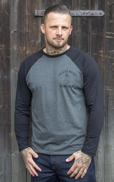 Rumble59 - Raglan Shirt - Quarter Milers