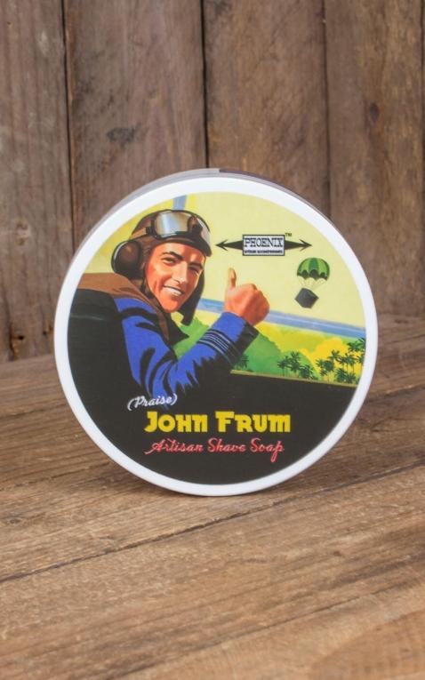 Phoenix Artisan Accoutrements - vegane Rasierseife John Frum