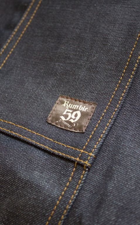 Rumble59 Jeans - RAW Denim Schürze