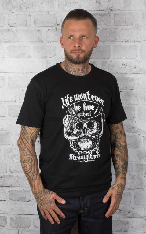 Rebel Rockers T-Shirt Stromgitarre