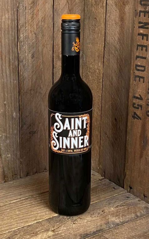 Red Hot and Blue Rotwein Saint and Sinner