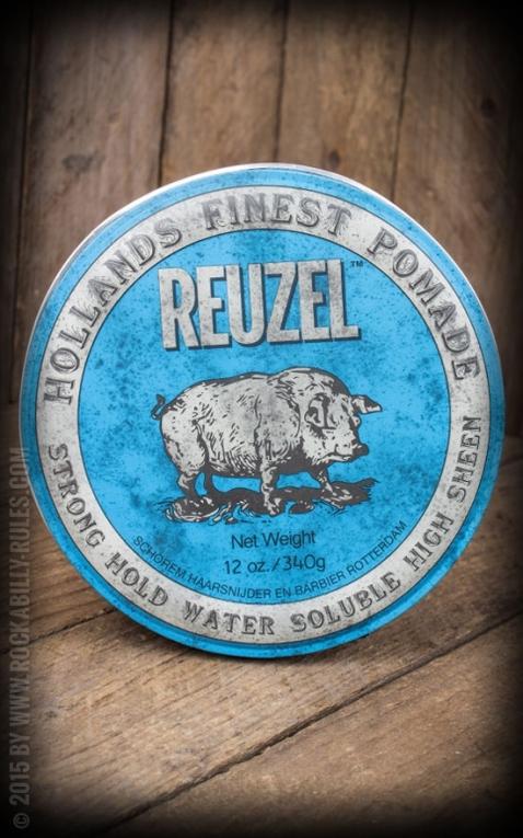 Reuzel Pomade - Strong Hold High Sheen 12oz./340g
