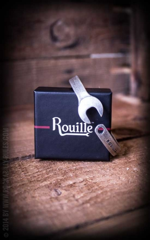 Rouille Armband Heritage Racelet - Vintage Silver
