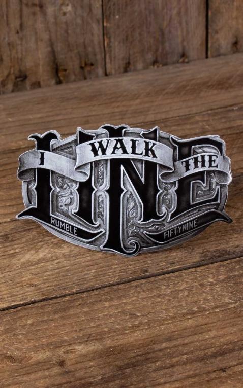 Rumble59 - Autocollant I walk the line