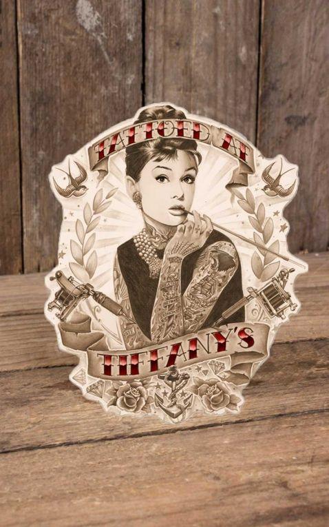 Rumble59 - Autocollant Tattoed at Tiffanys