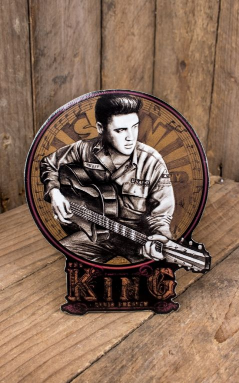 Rumble59 - Autocollant Young Elvis
