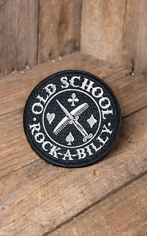 Rumble59 - Aufnäher Oldschool Rockabilly