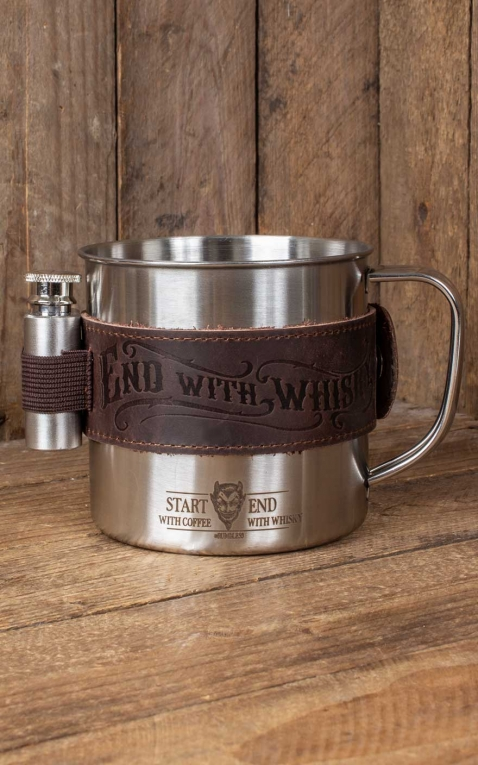 Rumble59 - Mug set - Start with coffee, end with whisky