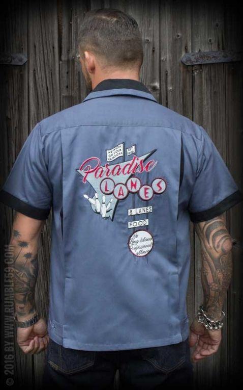 Rumble59 - Bowling Shirt - Paradise Lanes