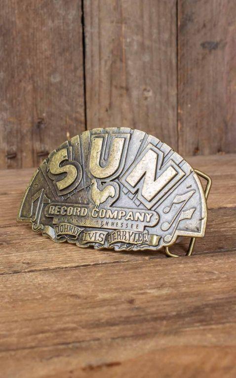 Rumble59 - Boucle de ceinture Sun Records Company - Special Edition