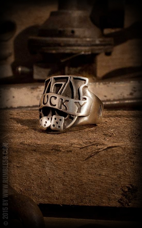 Rumble59 - Stainless Steel Ring - Lucky No. 7