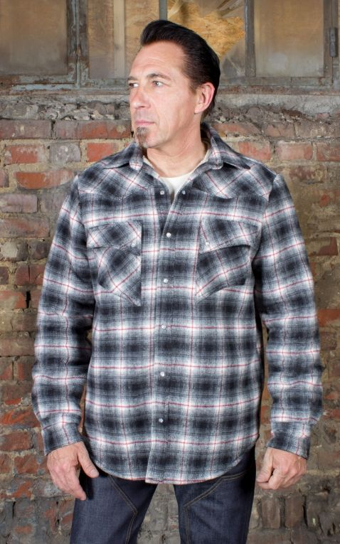 Rumble59 - Winter Shadow Plaid Shirt | Chemise en flanelle - Idaho