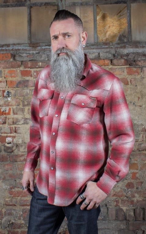 Rumble59 - Flannel Shadow Plaid Shirt | Flanellhemd