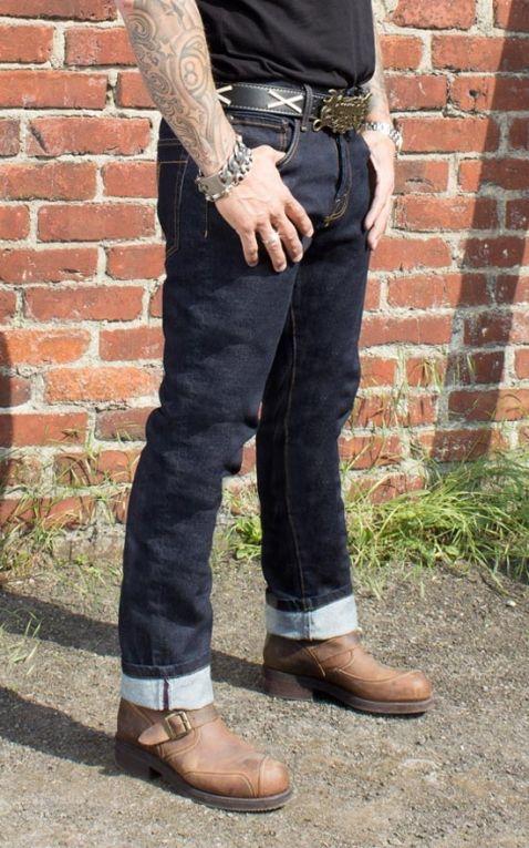 Rumble59 - Male Slim Fit Denim