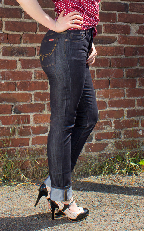 Rumble59 Ladies Denim - Marilyns Curves - Slim Fit