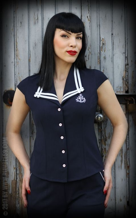 Rumble59 Ladies - Sailor Bluse