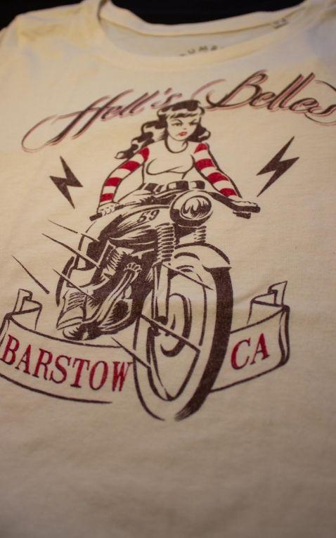 Rumble59 - Ladies T-Shirt - Hells Belles - offwhite