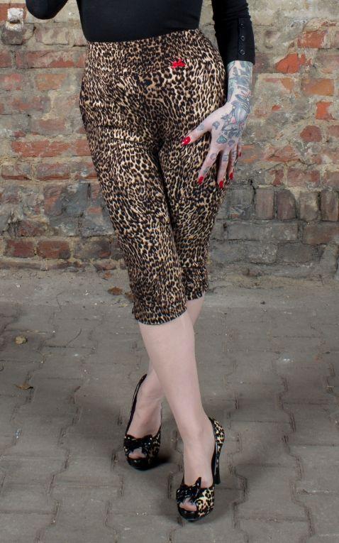Rumble59 Ladies - Leopard Capri Pants - The wild one