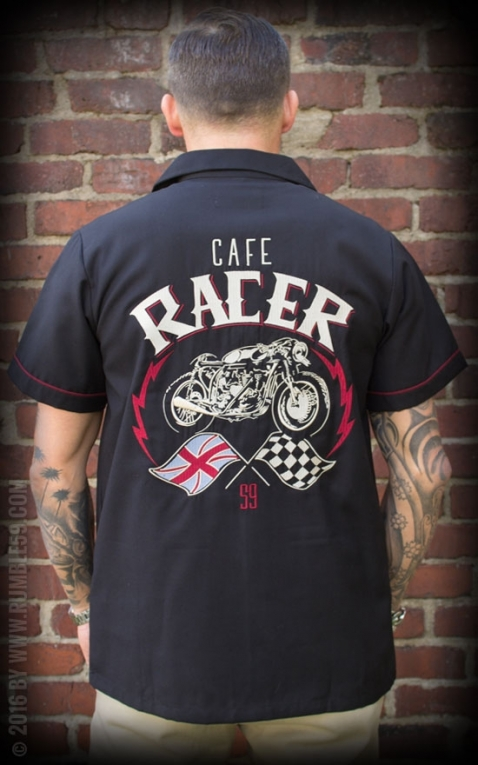Rumble59 - Lounge Shirt - Cafe Racer