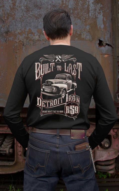 Rumble59 - Longsleeve-Shirt - Built to last