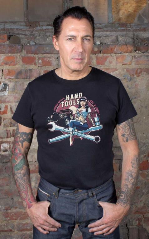 Rumble59 - T-Shirt - Hotrod Bettys Handtools