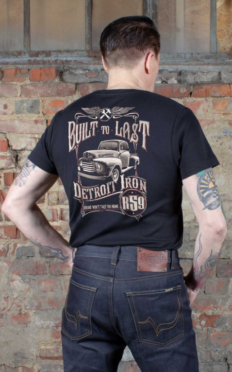 Rumble59 - T-Shirt -Built to last