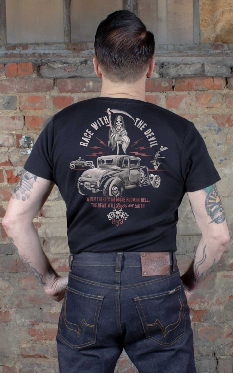 Rumble59 - T-Shirt - Race with the devil