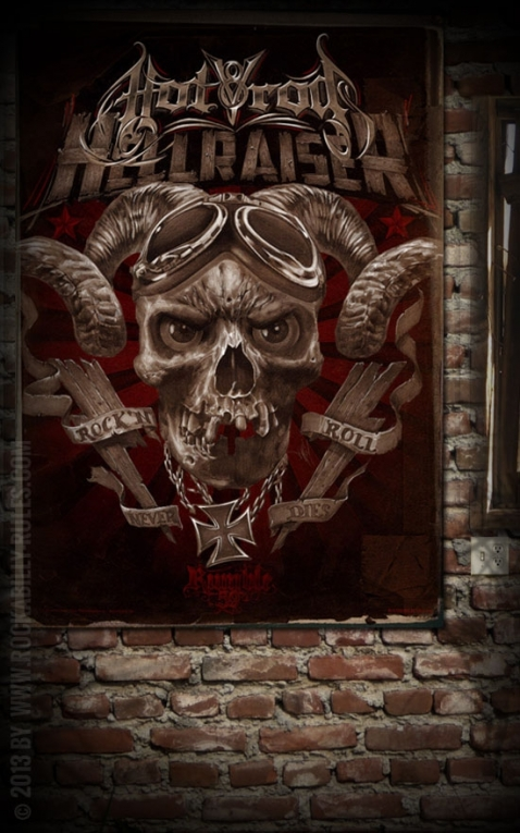 Rumble59 Poster - Hotrod Hellraiser