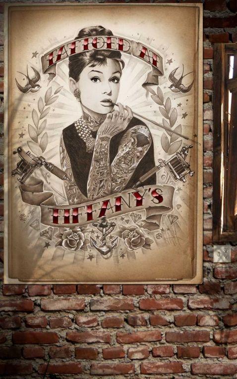 Rumble59 Poster - Tattoed at Tiffanys
