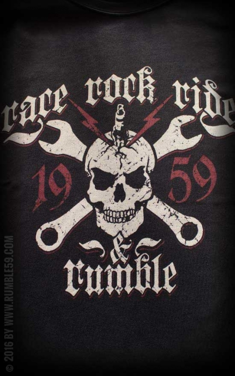 Rumble59 - T-Shirt - Race - Rock - Ride