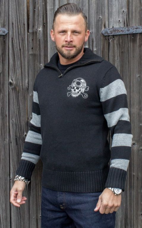 Rumble59 - Racing Sweater - Death Rider