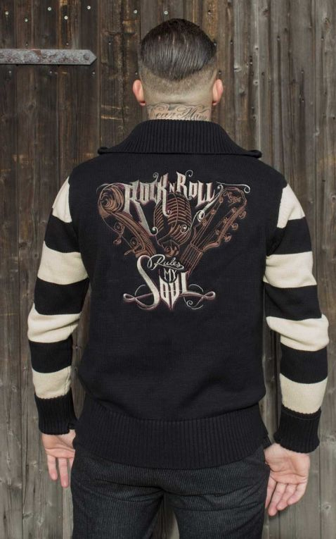 Rumble59 - Racing Sweater - RnR rules my soul