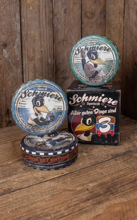 Rumble59 - Schmiere - Set de 3 Pommade Band Collection