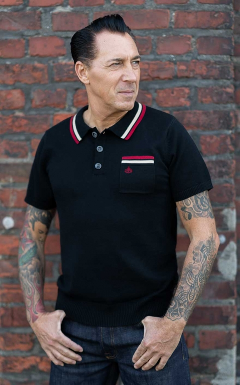 Rumble59 - Knitted Polo Shirt - Redmond
