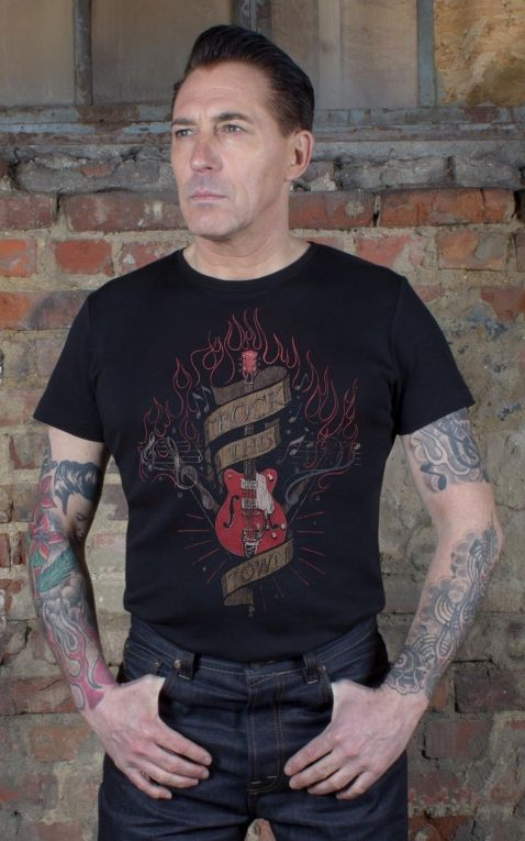 Rumble59 - T-Shirt - Rock this town